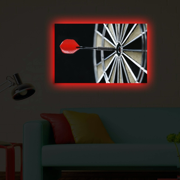 4570DACT-33 Multicolor Decorative Led Lighted Canvas Painting