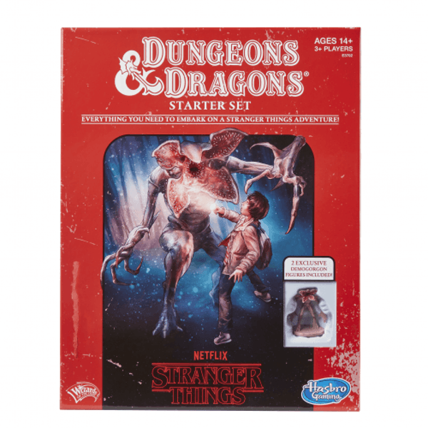Stranger Things Dungeons & Dragons Starter Set Board Game
