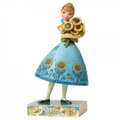Spring in Bloom Anna (Frozen) Disney Traditions Figurine