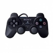 Official Sony DualShock 2 Controller Pad Black PS2