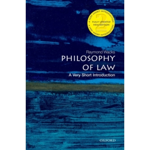 Philosophy of Law: A Very Short Introduction by Raymond Wacks (Paperback, 2014)