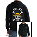 One Piece - Skull With Map Men's X-Large Hoodie - Black - Image 2