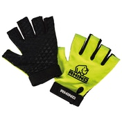 Rhino Pro Half Yellow Finger Mitts Junior - Medium/Large