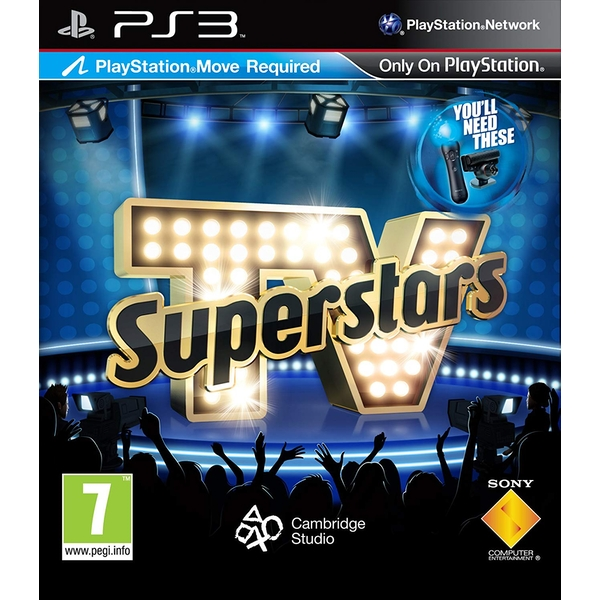 Playstation Move TV Superstars Game PS3