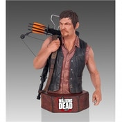 Gentle Giant The Walking Dead Daryl Dixon Polystone Minibust Limited Edition