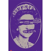 Sex Pistols God Save the Queen Maxi Poster