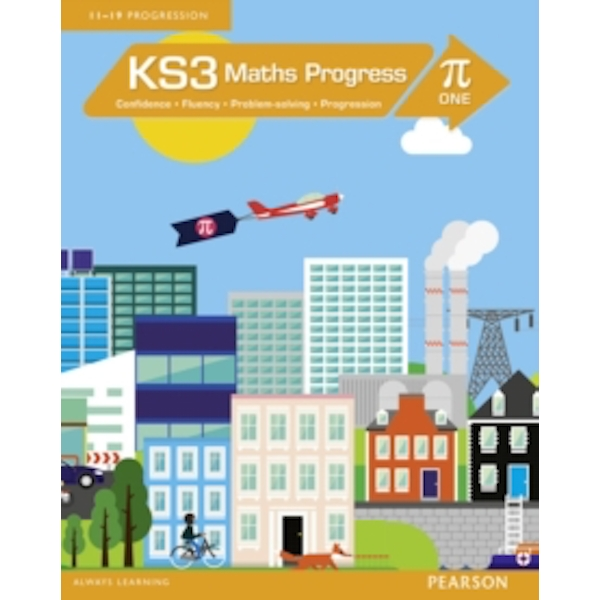 KS3 Maths Progress Student Book Pi 1