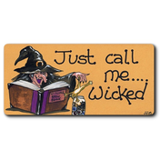 Just Call Me Wicked Smiley Magnet Pack Of 12