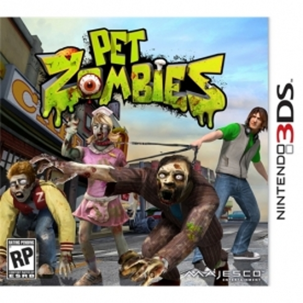 Pet Zombies Game 3DS