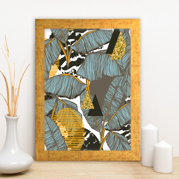 AC524806210 Multicolor Decorative Framed MDF Painting