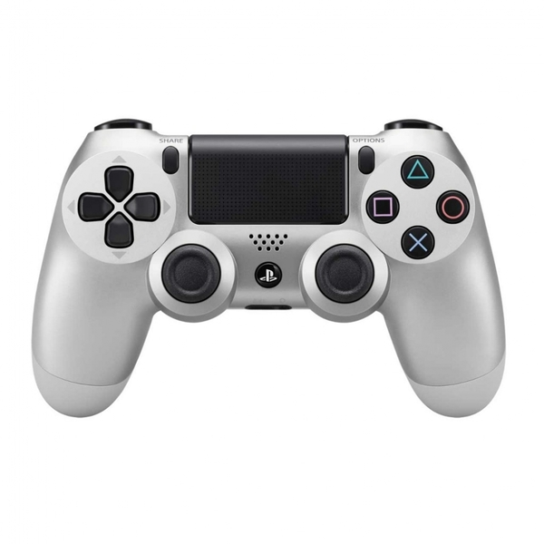 Sony Dualshock 4 V2 Silver Controller PS4