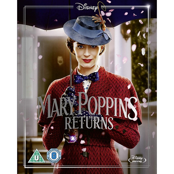Mary Poppins Returns (Includes Sing-Along Version)  Blu-ray