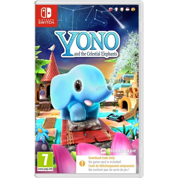 Yono and the Celestial Elephants Nintendo Switch Game [Code in a Box]