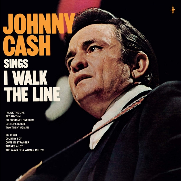 "Johnny Cash - I Walk The Line Vinyl + 7"" Coloured Single"