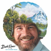 Bob Ross: Art of Chill Board Game