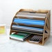 Wooden Desk Organiser | Pukkr Fan - Image 2