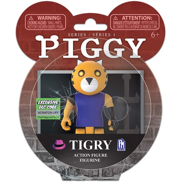"""Piggy Series 1 3.5"""" Action Figure - Tigry"""