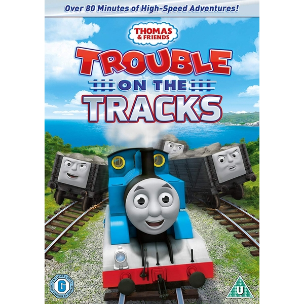 Thomas The Tank Engine - Trouble On The Tracks DVD