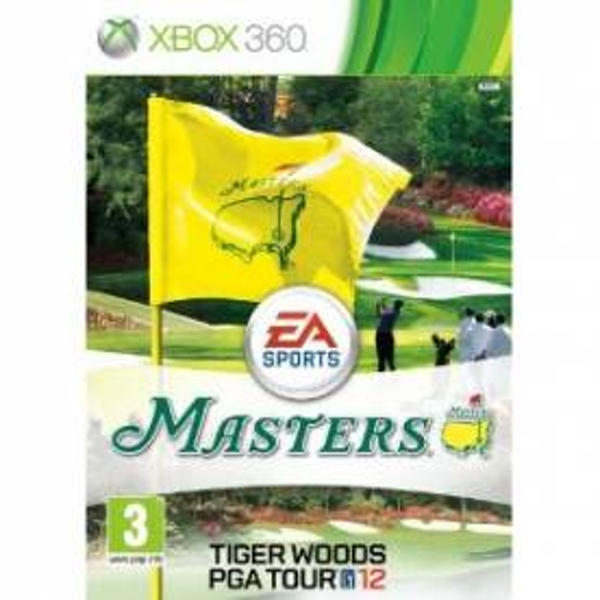 Tiger Woods PGA Tour 12 The Masters Game Xbox 360