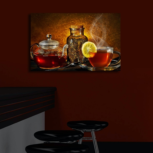 4570?ACT-30 Multicolor Decorative Led Lighted Canvas Painting