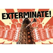 Doctor Who Daleks Exterminate Maxi Poster