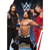 World Wrestling Men Official 2019 Calendar - A3 Wall Calendar