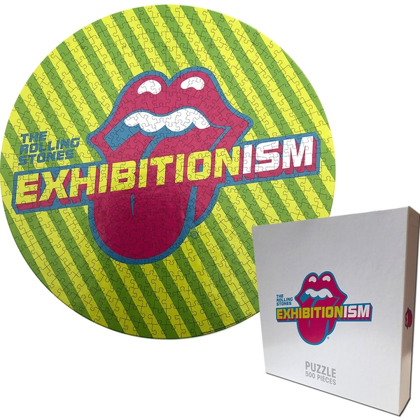 The Rolling Stones - Exhibitionism Round Jigsaw Puzzle - 500 Pieces