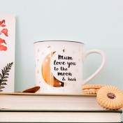 Sass & Belle Mum Love You To The Moon And Back Mug
