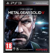 Metal Gear Solid Ground Zeroes Game PS3