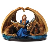Fierce Loyalty Dragon Figurine