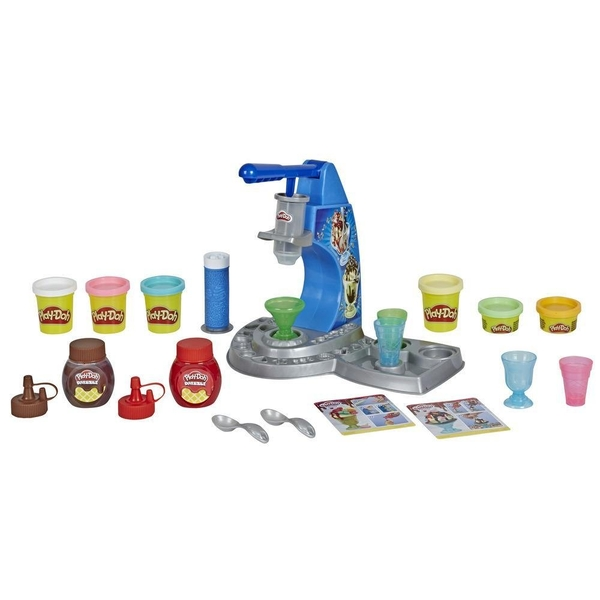 Play-Doh - Dizzy Ice Cream Set