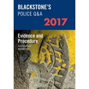 Blackstone's Police Q&A: Evidence and Procedure: 2017 by John Watson, Huw Smart (Paperback, 2016)