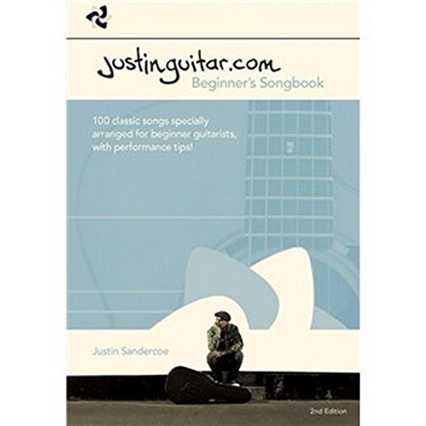 Justinguitar.com Beginners Songbook: 100 Classic Songs Specially Arranged for Beginner Guitarists, with Performance Tips! by Music Sales Ltd (Spiral bound, 2012)