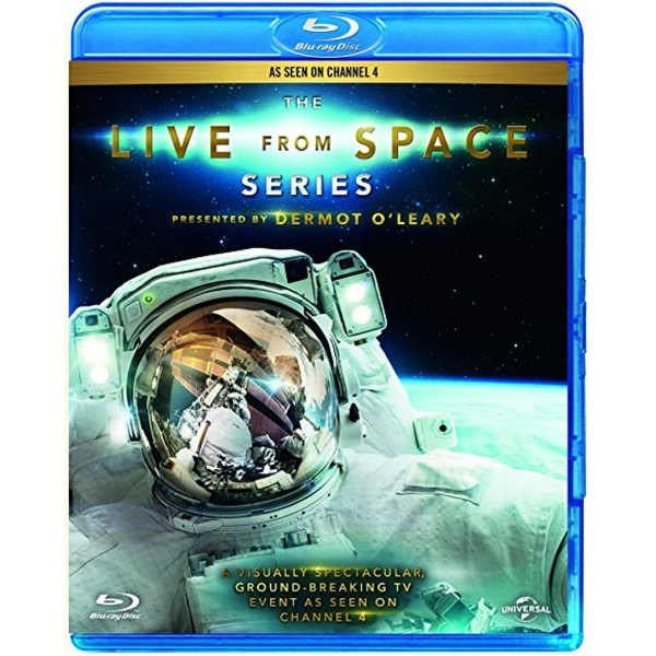 Dermot O'Leary The Live From Space Series Blu-ray