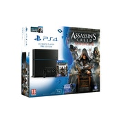 PlayStation 4 (1TB) Black Console with Assassin's Creed Syndicate & Watchdogs