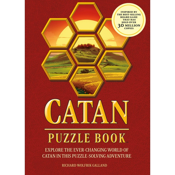 Catan Puzzle Book: Explore the Ever-Changing World of Catan in this Puzzle-Solving Adventure by Richard Wolfrik Galland (Paperback, 2020)