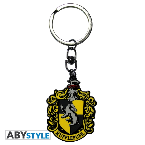 Harry Potter - Hufflepuff Metal Keyring