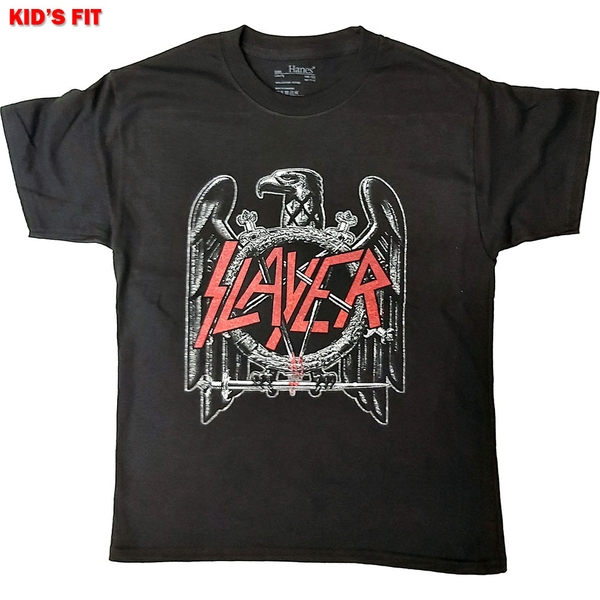 Slayer - Black Eagle Kids 5 - 6 Years T-Shirt - Black
