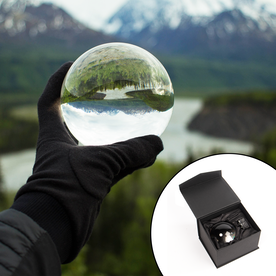 M&W K9 Clear Crystal Ball For Photography 100mm
