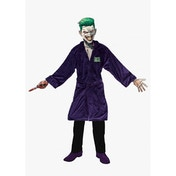 Suicide Squad Joker Adult Fleece Bathrobe