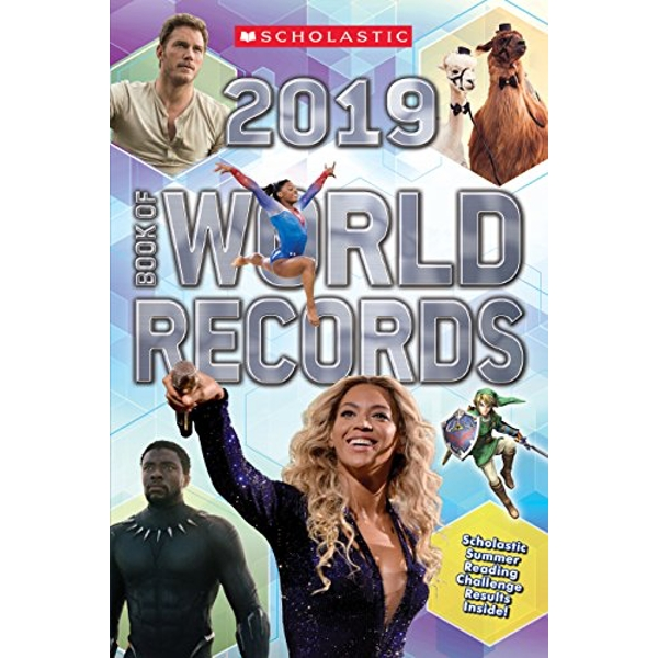Scholastic Book of World Records 2019  Paperback 2018