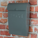 Outdoor Steel Mail Postbox | M&W Grey - Image 6