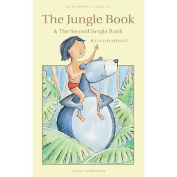 The Jungle Book & The Second Jungle Book by Rudyard Kipling (Paperback, 1993)