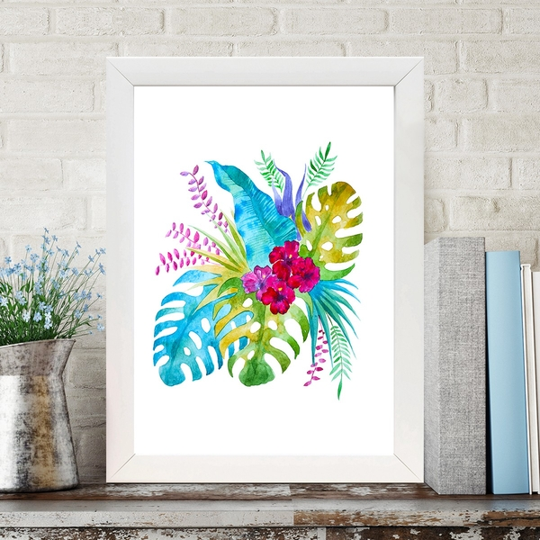 BC682493896 Multicolor Decorative Framed MDF Painting