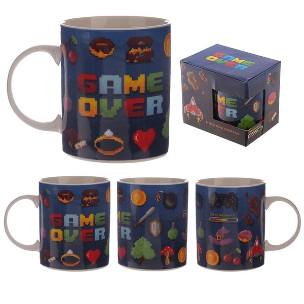Game Over Design New Bone China Mug