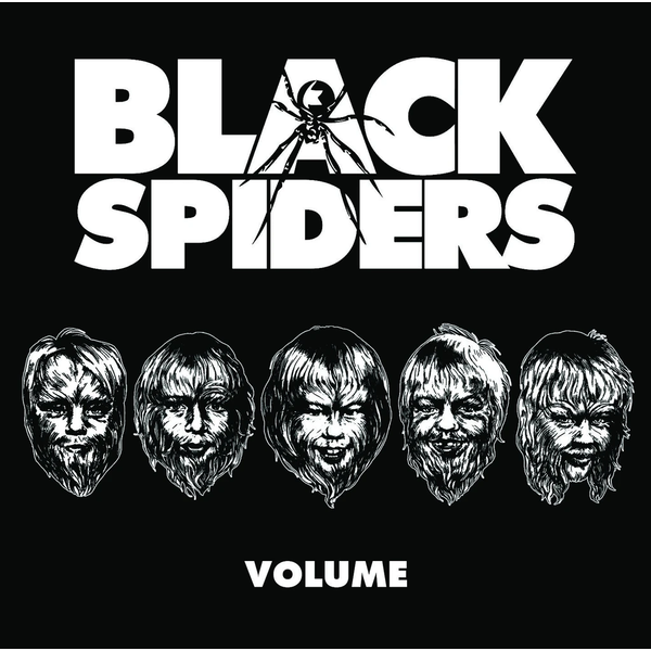 Black Spiders ‎- Volume Vinyl