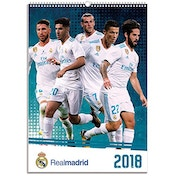 Real Madrid C.F. Official 2018 Calendar