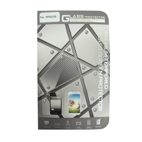 iPhone 5/5S Compatible Glass Screen Protector Retail Boxed