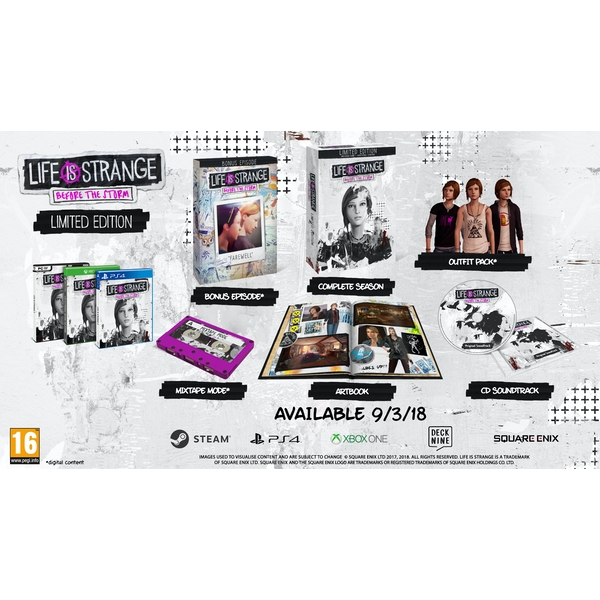 Life Is Strange Before The Storm Limited Edition PC Game - Image 2