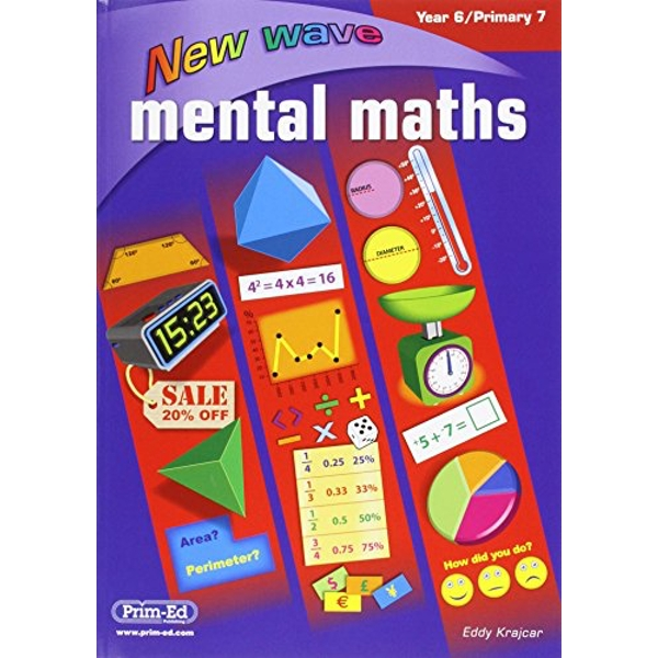 NEW WAVE MENTAL MATHS YEA6 PRIMARY7   2016
